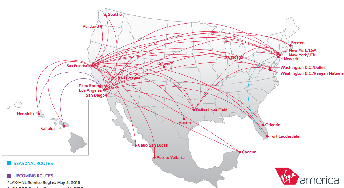 An alaska virgin america deal is a big win for american airlines american airlines alaska airlines partnership img 2 virgin america route map publicscrutiny Gallery