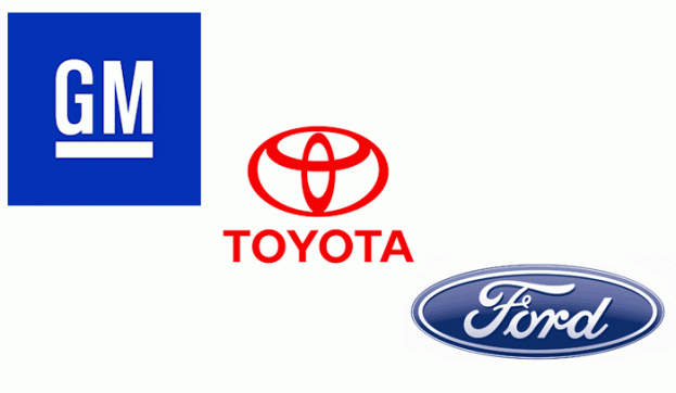 toyota ford and gm
