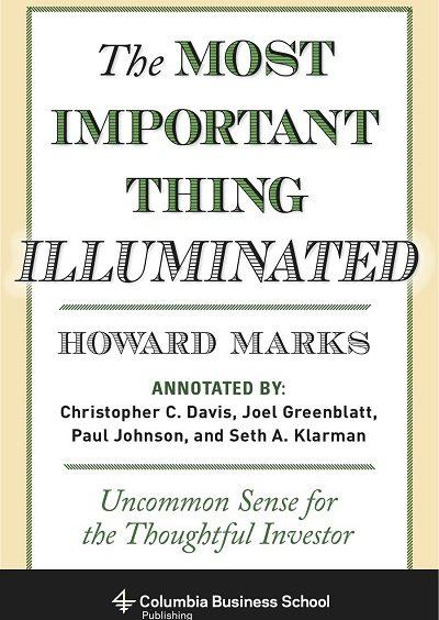 The Most Important Thing Howard Marks