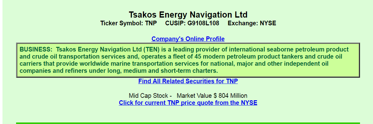 Top Iul Carriers 2020.Tsakos Energy A View From The Perspective Of A Preferred