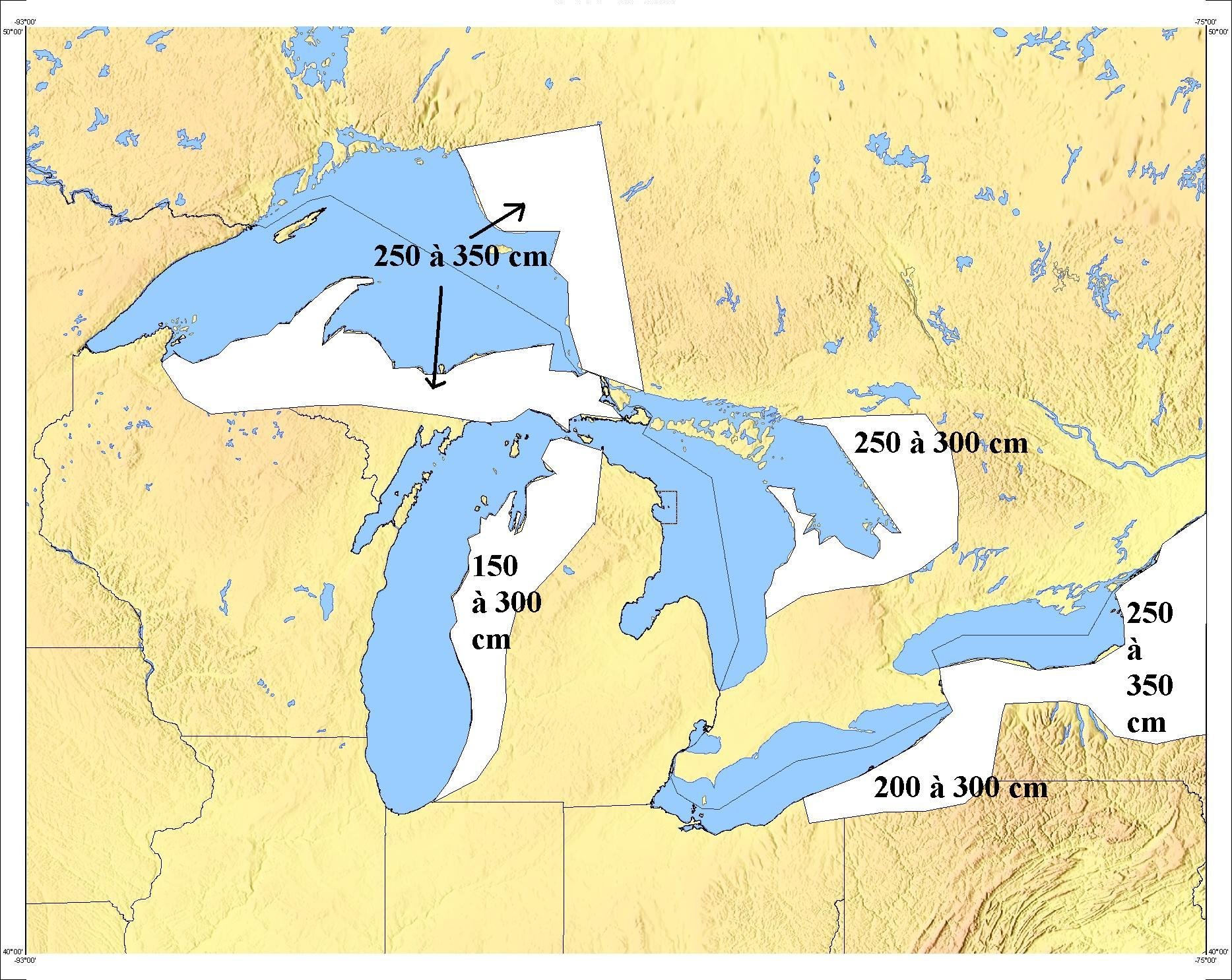 Michigan Map With Cities And Lakes.Fasten Your Snowbelts Technology And The Great Lakes Seeking Alpha