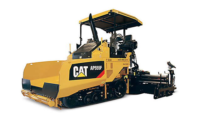New CAT product, Paver AP555F