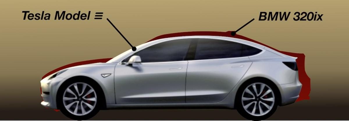 Tesla Model 3 Dimensions >> Tesla Model 3 Wins On Innovative Simplicity Tesla Inc