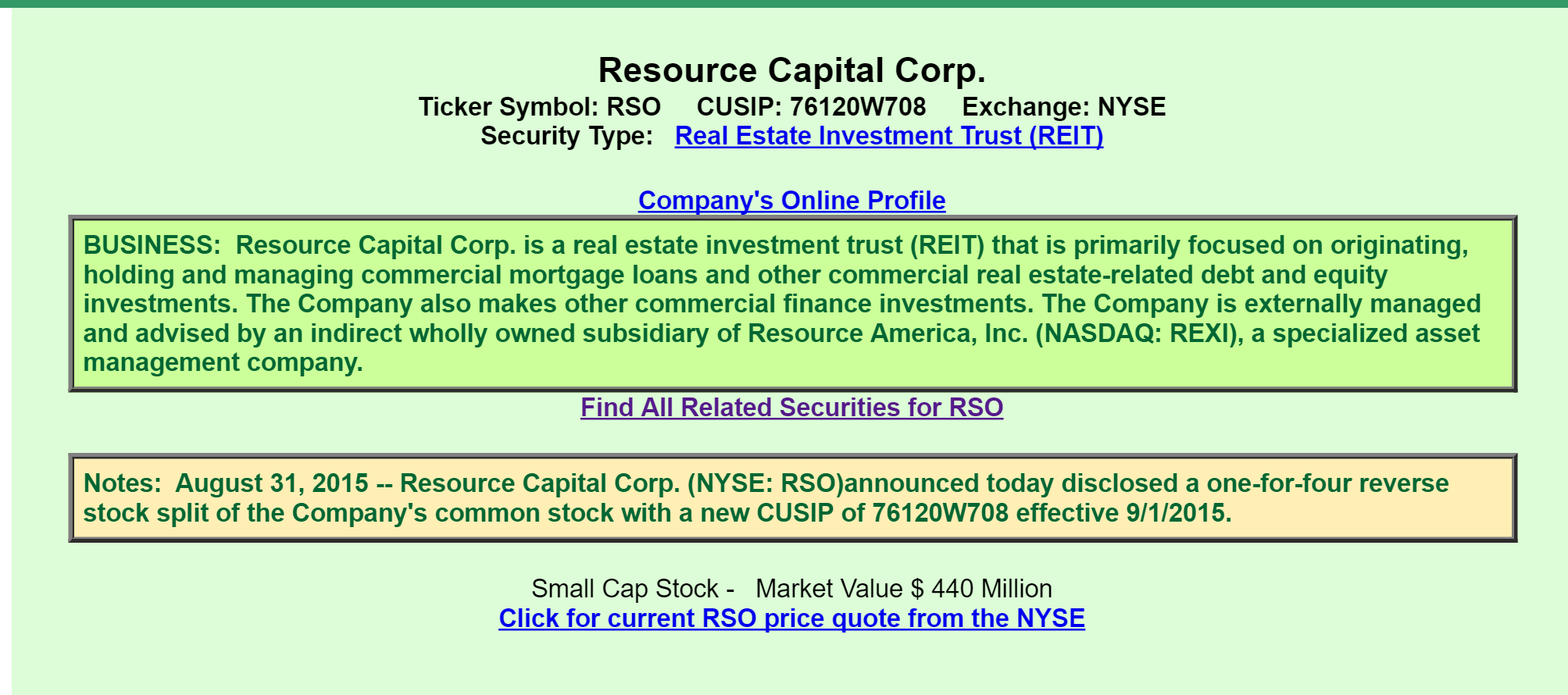 Resource capital a view from the perspective of a preferred a quick review informs us that resource capital listed as a diversified reit is a real estate finance company investing in real estate related loans biocorpaavc