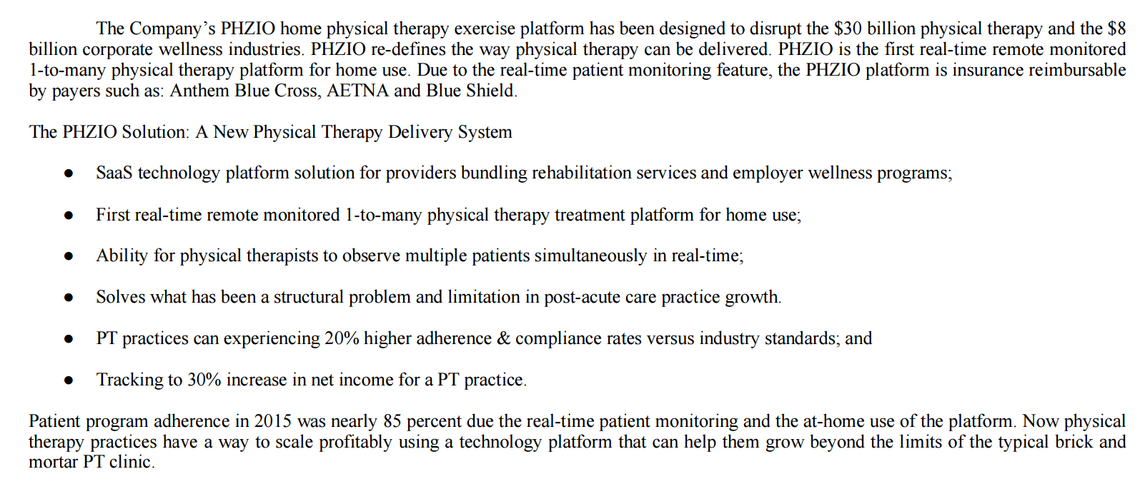 Best physical therapy program - Opportunity Within The Multi Billion Physical Therapy Industry Examining U S Physical Therapy And Ewellness U S Physical Therapy Inc Nasdaq Usph