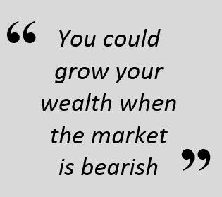 Quote grow wealth in bear market