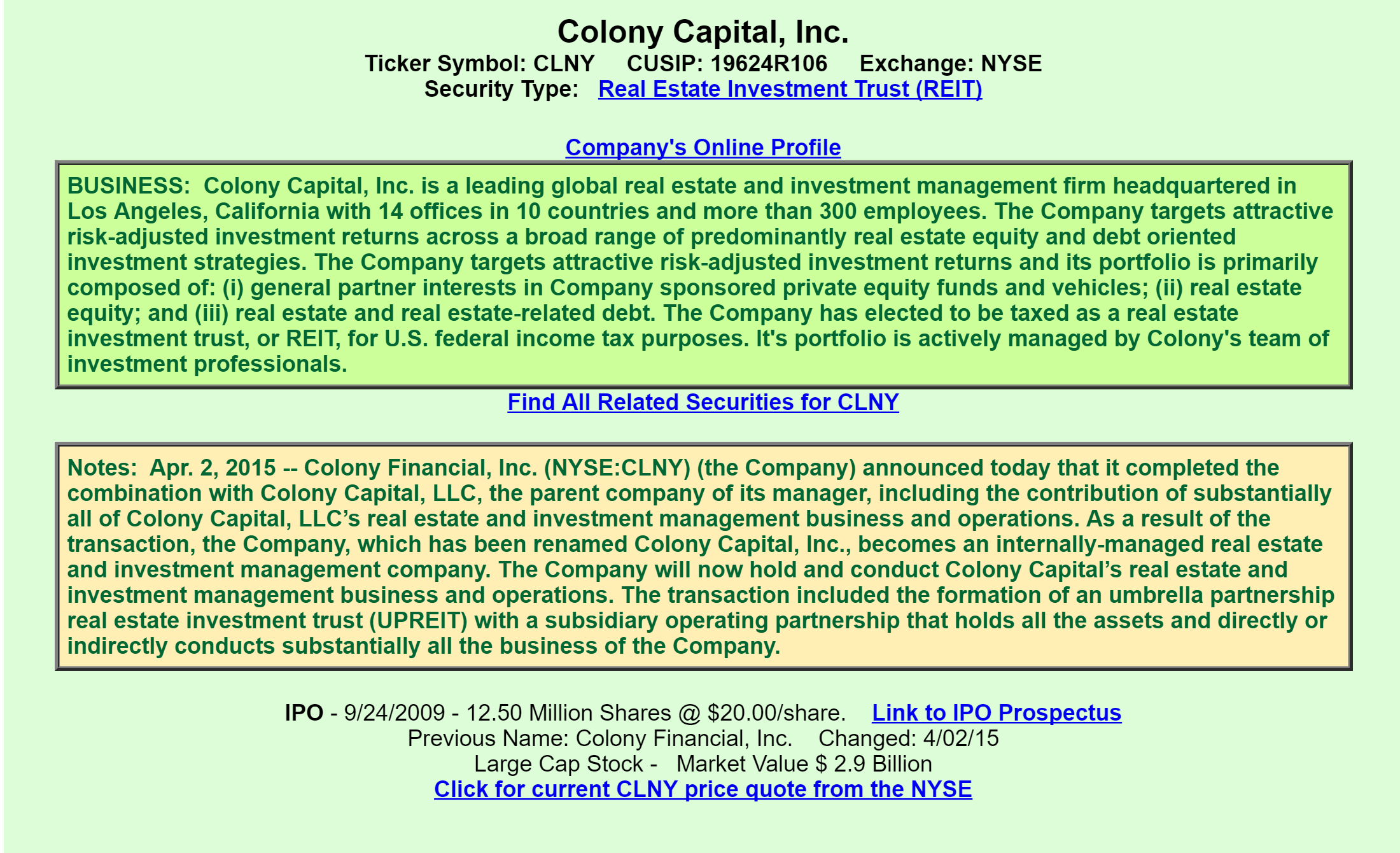 Colony Capital: A View From The Perspective Of A Preferred Investor