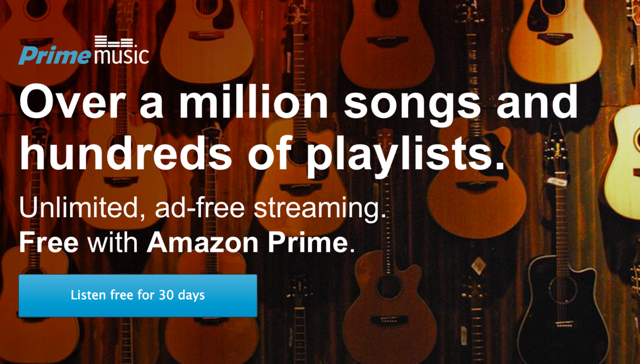 Amazon Prime Subscribers To Get Music Streaming Service