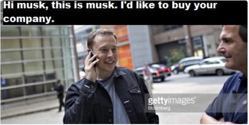 Elon Musk meme via StockTwits on Twitter.