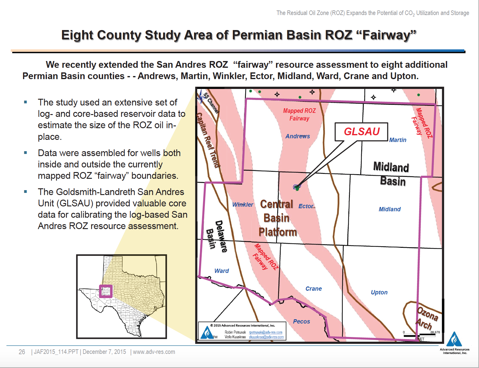 Upton County Texas >> Kinder Morgan's Tall Cotton CO2 Project: Ushering In A New ...