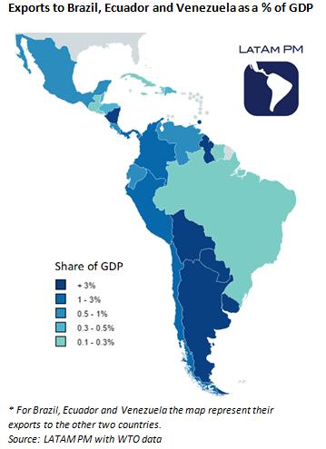 Second-Order Effects Of Brazil, Ecuador And Venezuela's