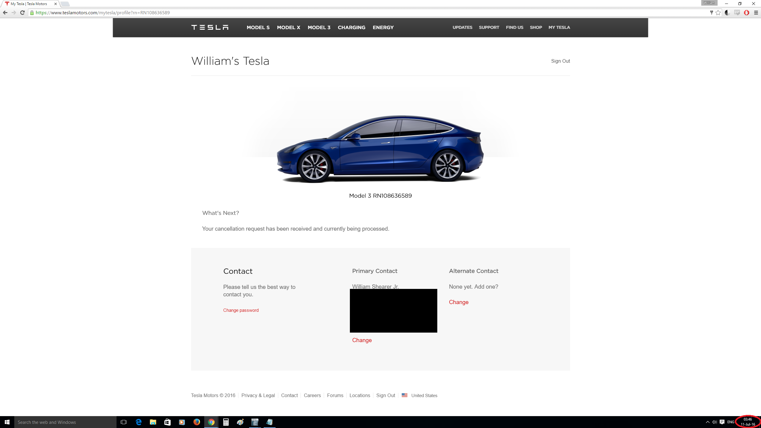 This Sparks A Litany Of Questions Will My Pre Order Still Show As Active On Tesla S Q2 10 Q Filing After All The Cancellation Was Not Completed Before