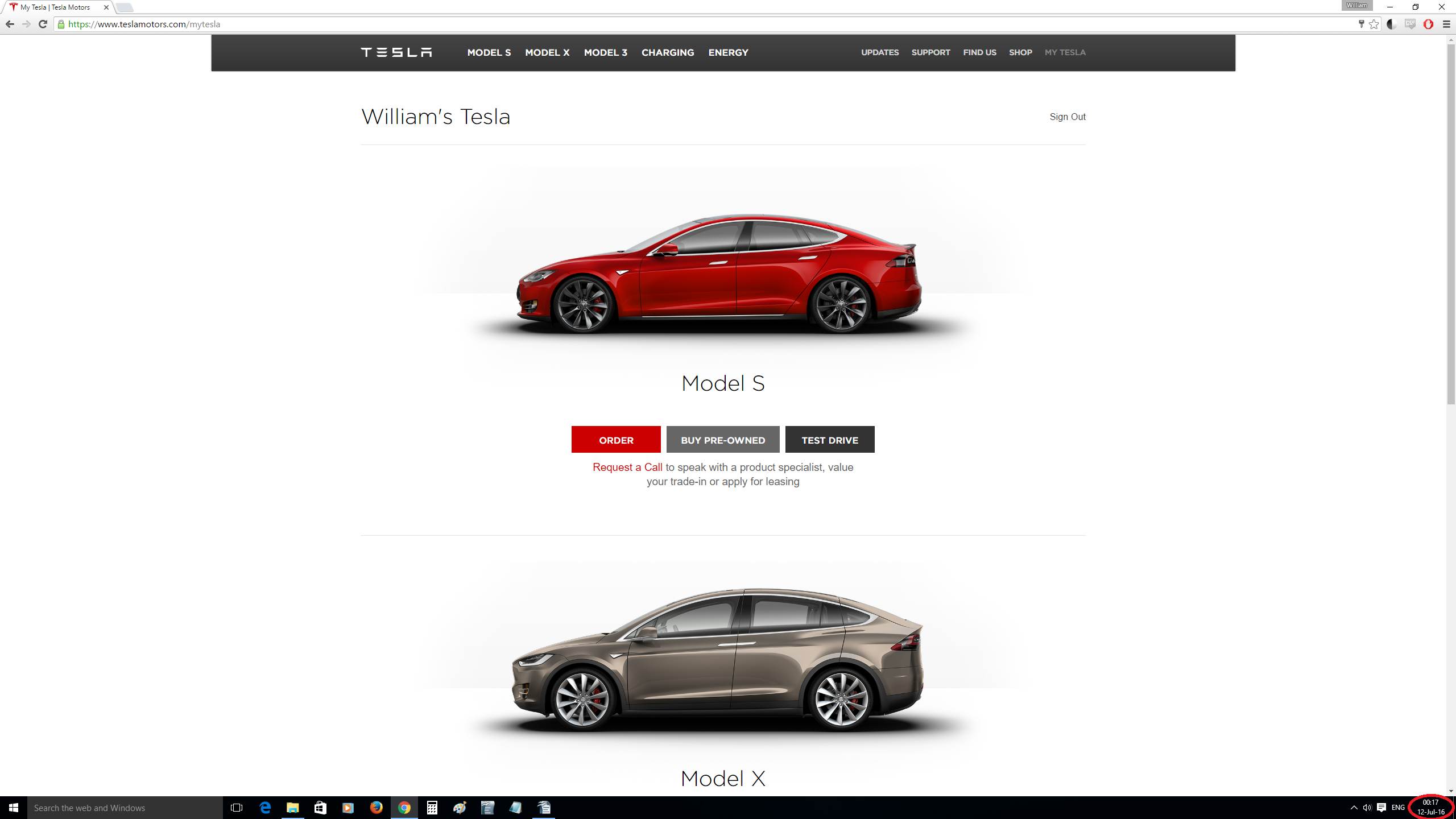 Interestingly When I Went Back To Tesla S Site That Evening My Pre Order Was No Longer Showing Up