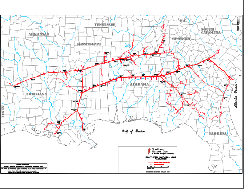 Natural Gas Infrastructure Companies