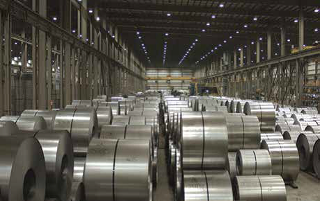 Rolled steel taken from NUE