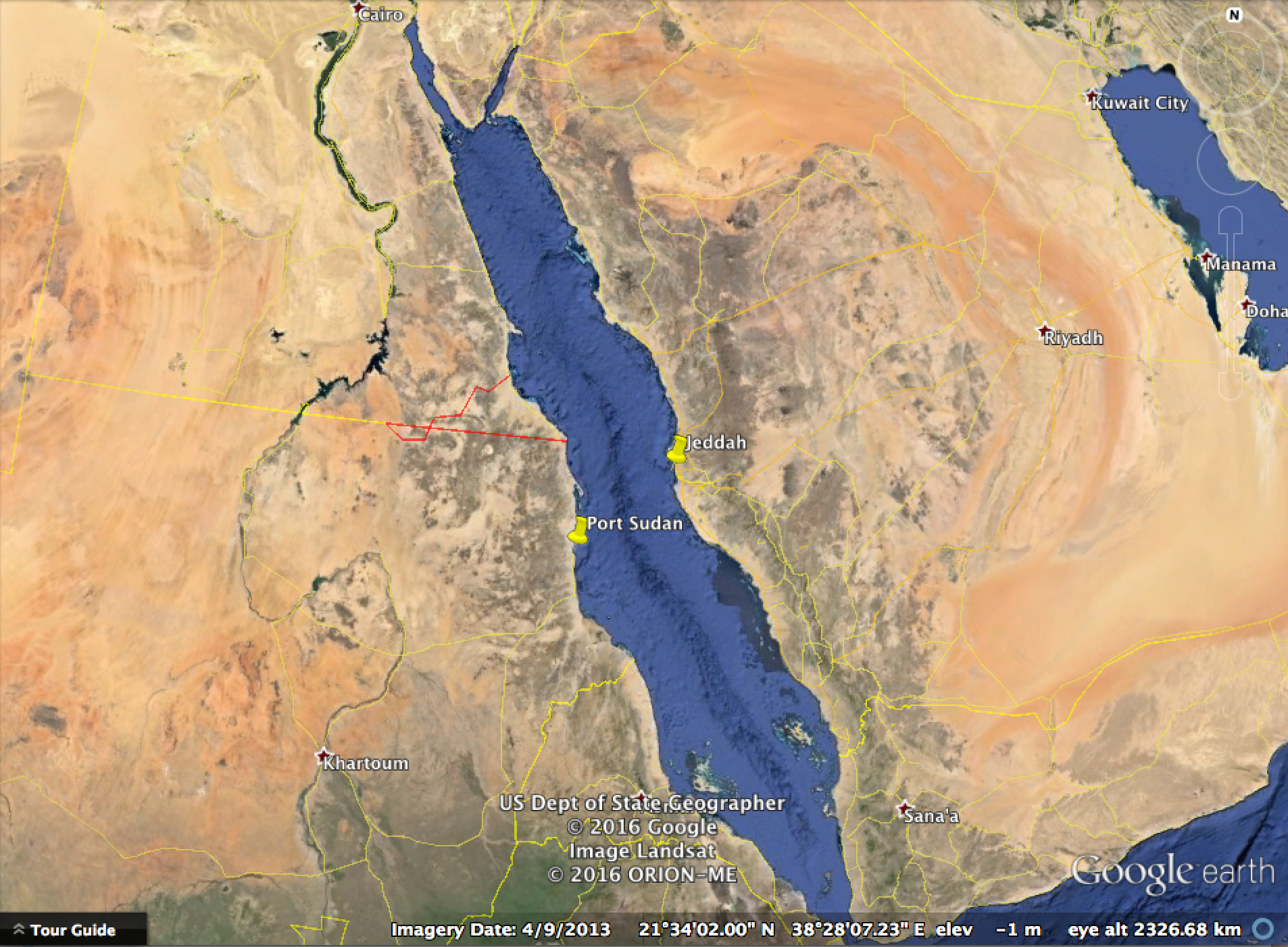 The geopolitics of saudi arabia seeking alpha the routes between arabia and the nile were used for example during the late 18th century when the british sent their army from india to egypt to counter gumiabroncs Gallery