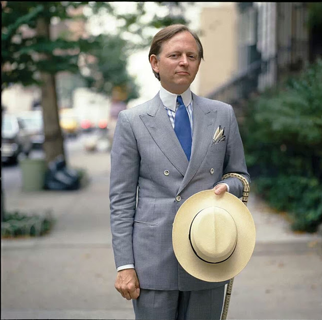 Photo of Tom Wolfe, via Bing