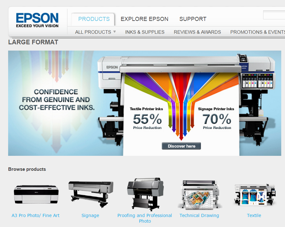Strong Focus On Inkjet Printer Makes Seiko Epson A Winner - Seiko