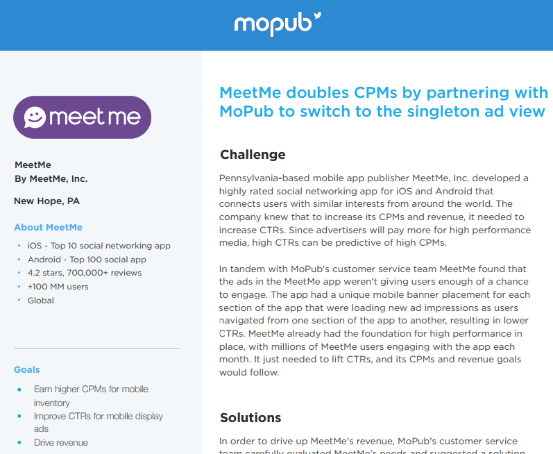 MeetMe: $1 50 Target Price If Advertisers Disavow This 'Den For
