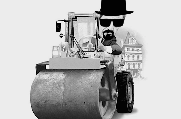 get on the steamroller or get run over volume 1