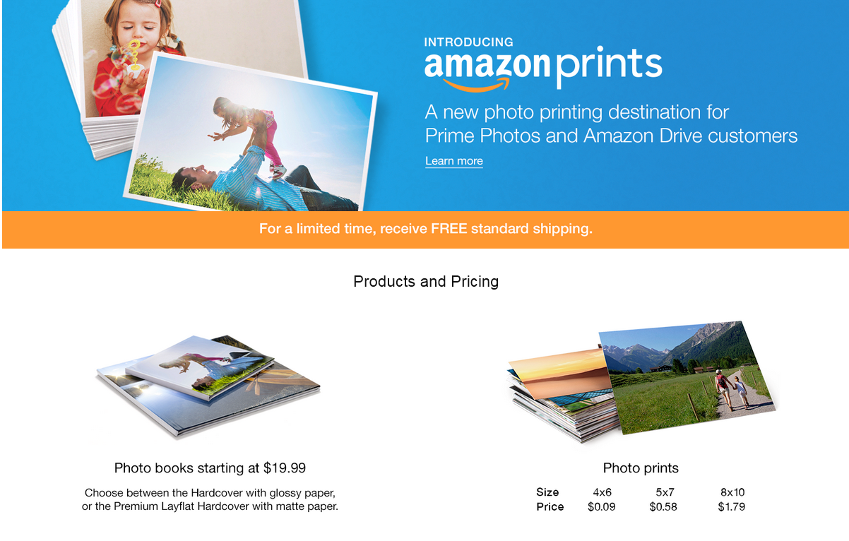 Amazon Threatens The Photo Printing Services Of Shutterfly
