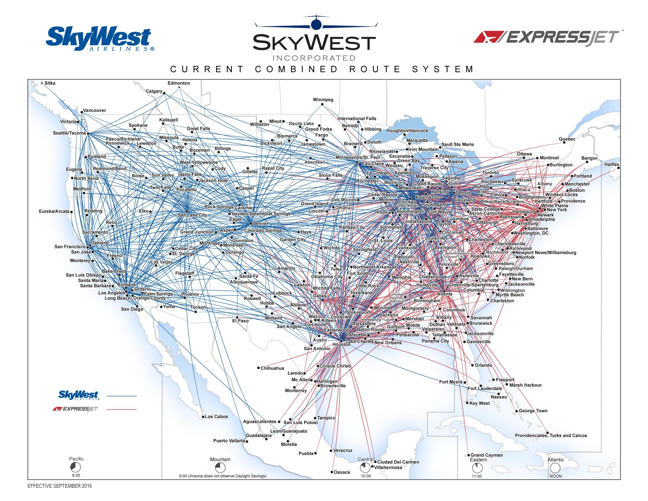 Tower To SkyWest: Descend And Maintain A Lower Alude ... on american route map, airtran airlines route map, pacific wings route map, air macau route map, national airlines route map, delta air lines route map, jetblue airlines route map, delta international route map, frontier airlines route map, key lime air route map, expressjet route map, atlas air route map, volaris route map, independence air route map, trans states airlines route map, island air route map, tap air portugal route map, luxair route map, united route map,