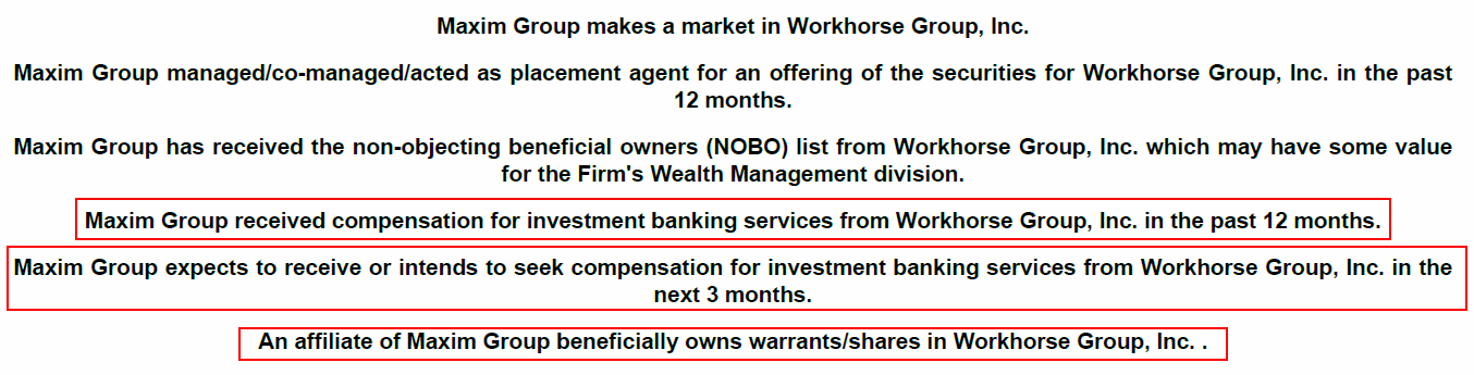 Workhorse: Strong Sell On Insolvency, Failed USPS Bid