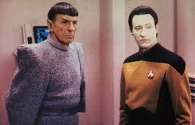 Data centric Data and rational, emotionless Spock