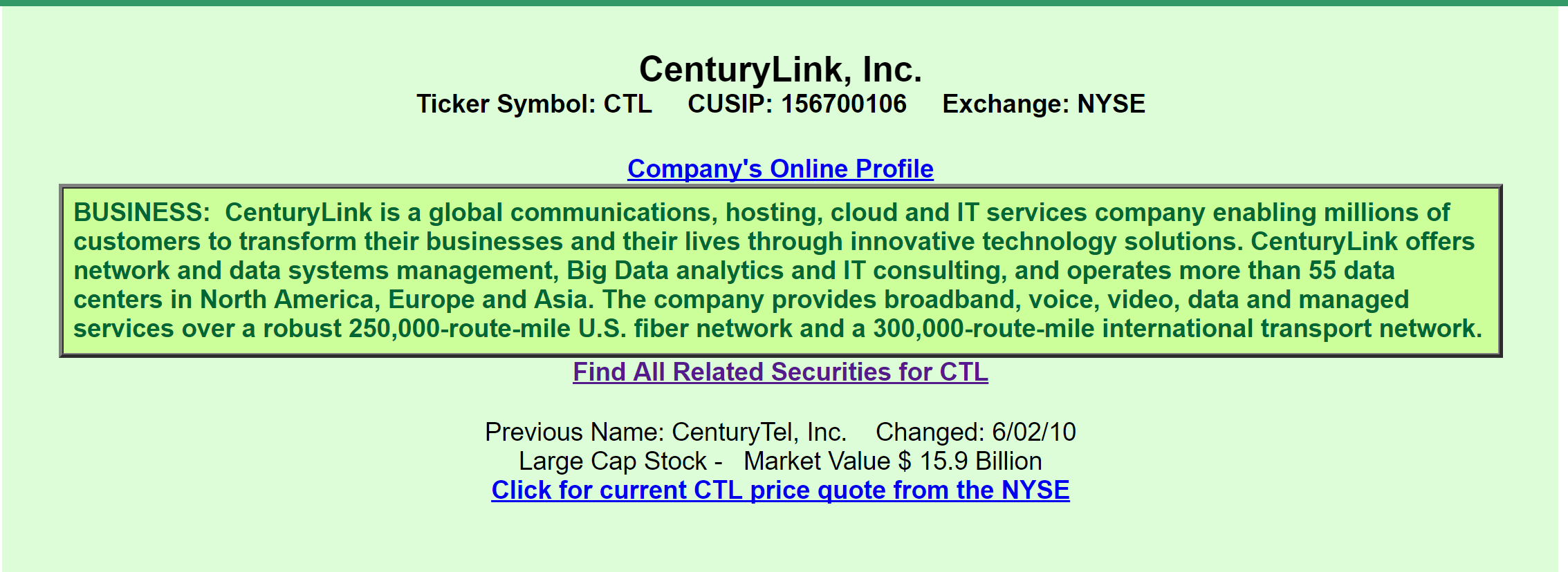 Centurylink a view from the perspective of a preferred and bond a quick review informs us that ctl is a global communications company that provides cloud and it services to millions of customers buycottarizona Image collections