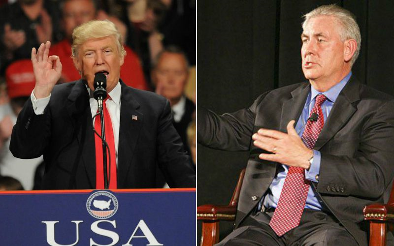 Trump, Tillerson Team Would Be A Huge Tailwind For Oilfield Services Companies
