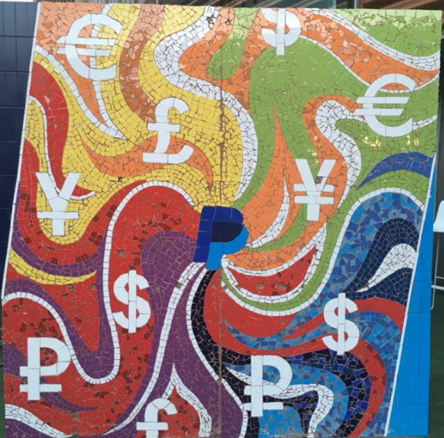 PayPal mosaic via PayPal