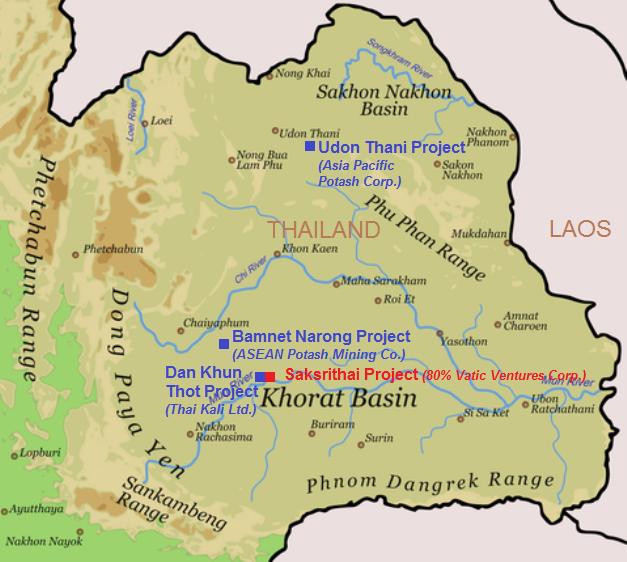 Next Door To Thailands First Potash Mine Vatic Ventures Starts
