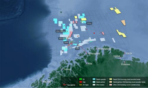 Statoil, Arctic, Barents, exploration, drilling, ONS, costs, Johan Castberg, Wisting