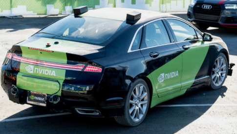 nvidia deep learning car