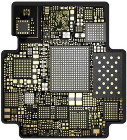 PCB of Apple Watch