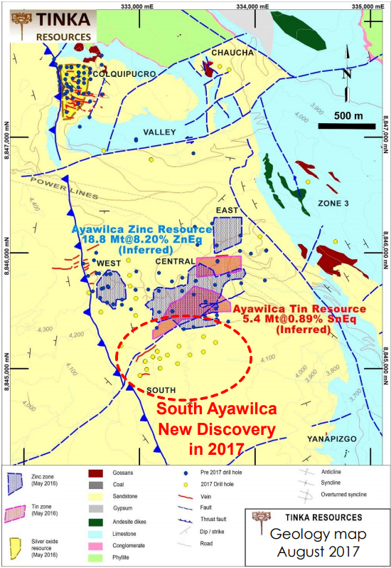 Tinka resources a red hot zinc play and an imminent acquisition gt silver indicated resources and 105 gt silver inferred resources contain 179 million toz silver 104 75 the deposit is open pittable publicscrutiny Image collections