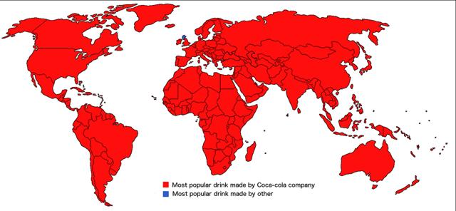 Drinks worldmap