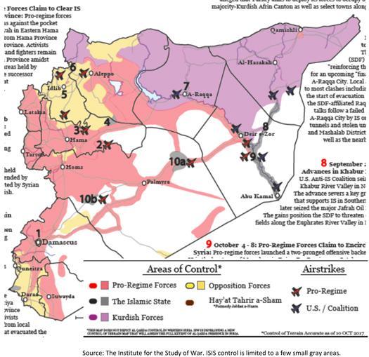 Territorial Control in Syria Image
