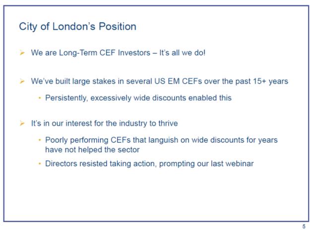 city of london presentation