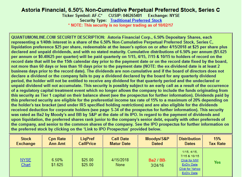 Sterling Bancorp 2 Companies 1 Preferred Stock Sterling Bancorp