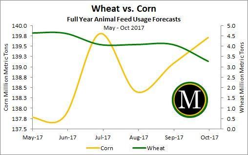 Wheat & Corn Animal Feed Forecasts
