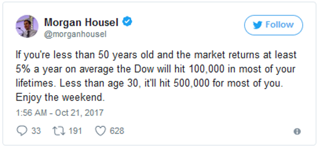 Dow 500000 We Are Already There Seeking Alpha