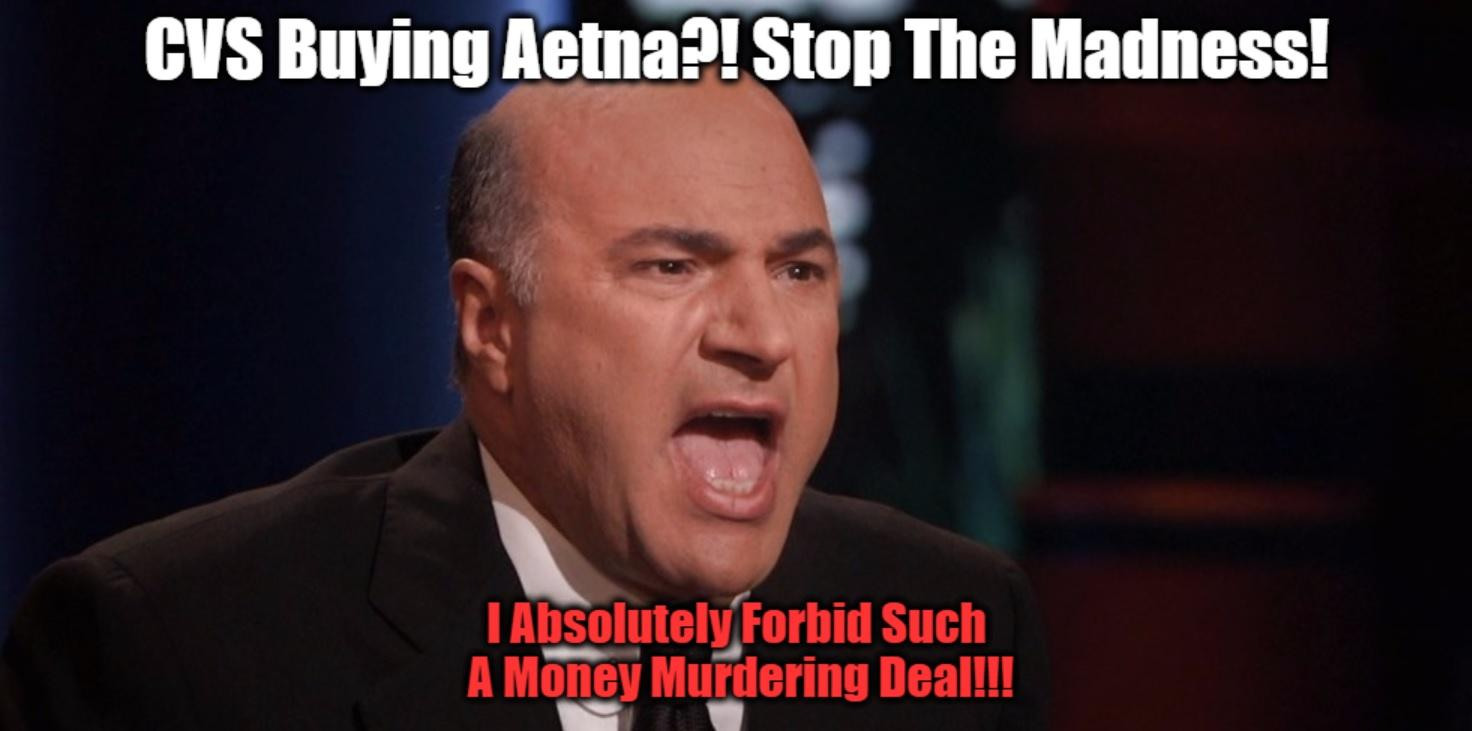 cvs and aetna  a marriage made in money hell