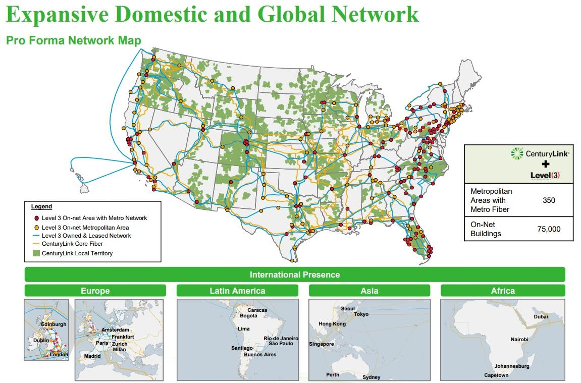Centurylink Can The Level 3 Acquisition Save Dividend Their Fibre Optic Cables To Smaller Rival Players Make Some Profit However News Isnt All Good Because While Communications Appears Be A Far Better Run And More Profitable Business Its Similarly Facing