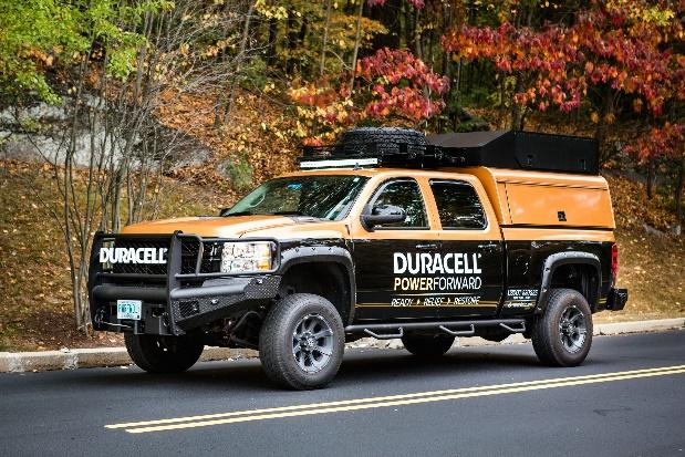 Image result for duracell hurricane truck