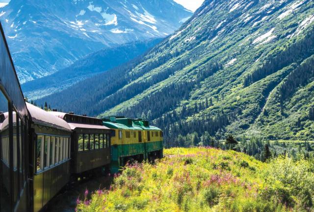 Yukon and white pass railway investment article scenery shot