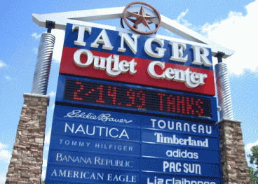 Retirement Security: Shopping At Tanger Outlets Bought Us A Bargain
