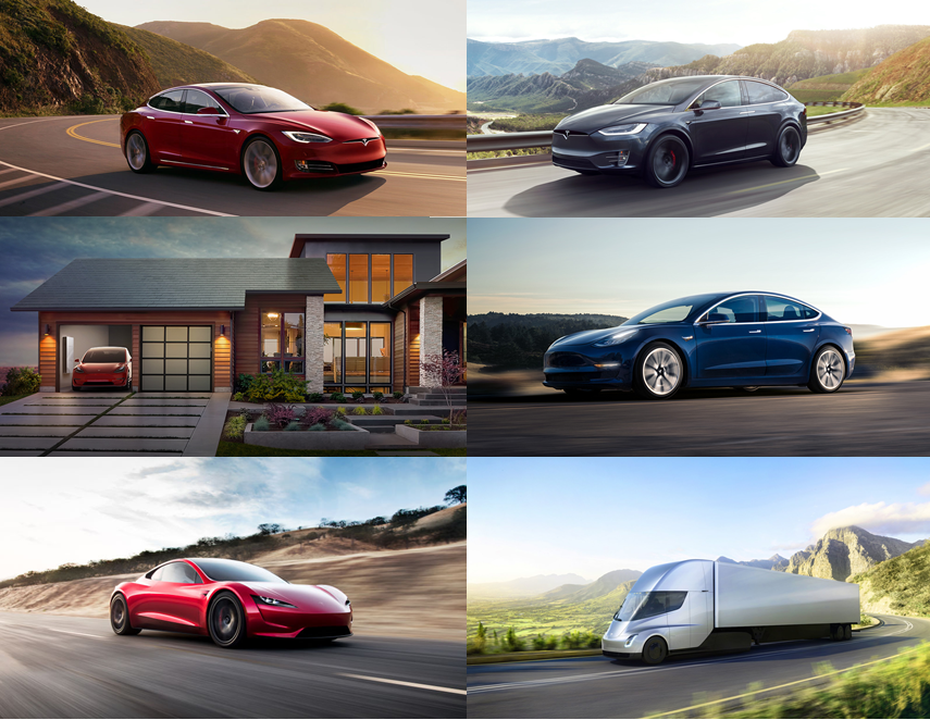 Origin Tesla