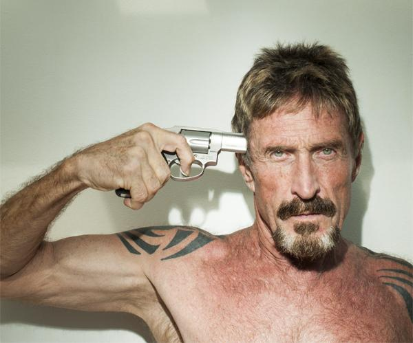 It is do or die for cybersecurity legend John McAfee