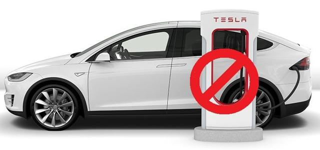 Tesla Nixes Supercharger Use For Some New Buyers